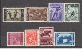 Romania.1937 25 ani Uniunea Federatiilor Sportive UFSR  CR.7, Nestampilat