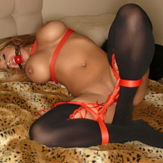 5 m Sfoara Rosie, Shibari Fetish Art by Erotica