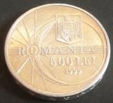 Moneda 500 LEI - ROMANIA, anul 1999 ECLIPSA  *cod 5008