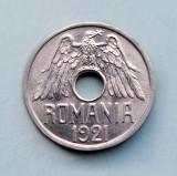 ROMANIA  -  50 Bani 1921  -  aUNC