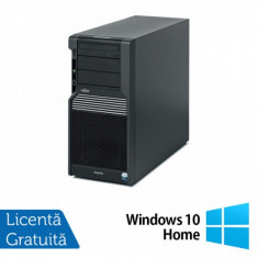 Workstation Fujitsu CELSIUS M470, Intel Xeon Quad Core W3503 2.40GHz, 8GB DDR3, 2 x 500GB SATA, Placa Video nVidia NVS450/512MB, DVD-RW + Windows 10 H