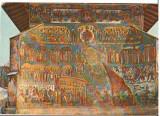 CPIB 15431 CARTE POSTALA - manastirea VORENET. JUDECATA DE APOI, FATADA DE VEST