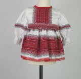Cumpara ieftin Rochita Traditionala Fetite Dora, 3-6 luni, 6-9 luni, 9-12 luni