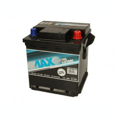 Baterie 4MAX 12V 40Ah 340A ECOLINE (R+ Borna standard) 175x175x190 B13 - flansa montare 10.5 mm (Pornire)