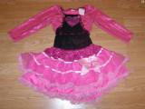 Costum carnaval serbare rochie dans balet pentru copii de 6-7 ani, Din imagine