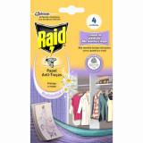 Cumpara ieftin Hartie Activa Raid Impotriva Moliilor, 4 Buc, Insecticid, Raid Active Paper, Capcane pentru Molii Raid, Insecticid Molii Raid, Capcane Adezive Anti Mo