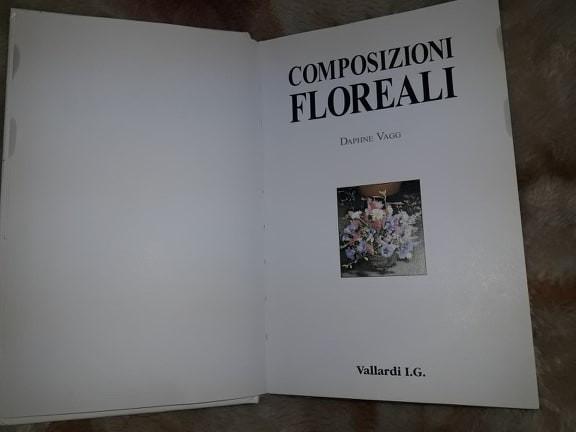 carte VECHE 1997-ARANJAMENTE FLORALE-COMPOSIZIONI FLOREALI-VALLARDI.I.G,T.GRATUI