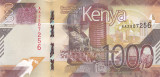Bancnota Kenya 1.000 Shilingi 2019 - PNew UNC ( SERIE NOUA )