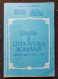 LIMBA ROMANA MANUAL PENTRU CLASA A IX-A - Anghelescu, Lazarescu, Nicolae, Clasa 9