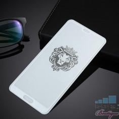 Folie Sticla Huawei P20 Pro Acoperire Completa Alba foto