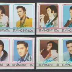 St Vincent 1985 Elvis Presley serie ndt neuzata