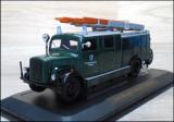 Macheta pompieri Magirus-Deutz S 3000 SLG (1941) verde 1:43 Yat Ming