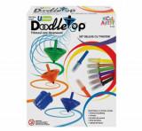 Cumpara ieftin Micul Artist - Set titirez varf carioca Deluxe Doodletop cu Twister