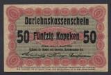 A2964 Germany Germania Lithuania Lituania 50 kopeken 1916 aUNC