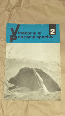 REVISTA VANATORUL SI PESCARUL SPORTIV         Nr.2  Februarie 1967 foto