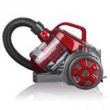 CLEANmaxx aspirator ciclon - fără sac - roșu / gri, 700 W
