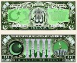SUA = FANTASY NOTES (TJ6) =  SERIA RELIGIILE LUMII : ISLAMISMUL - 2015  - UNC