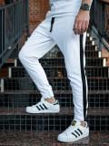 Pantaloni trening bărbați alb Bolf 11120
