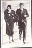 4621 - King CAROL II & Elena LUPESCU, Regale (27/18 cm) - old Press Photo - 1940