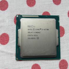 Procesor Intel Haswell, Core i7 4770K 3.5GHz, Socket 1150, Pasta cadou., Intel Core i7, 4
