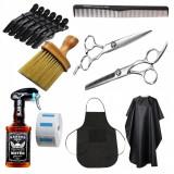 Set kit complet produse scoala foarfece frizerie coafor pulverizator manta SF03