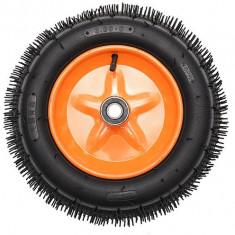 Roata roaba cu rulment portocalie TT 3.00-8 4PR