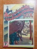 Carte pentru copii anii '90 -aventurile submarinului dox,nr 7