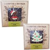 Tableta de ciocolata amaruie - Craciun | Comptoir de Mathilde