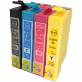 Set 4 Cartuse imprimanta Epson 18XL, T1815 ( T1811 + T1812 + T1813 + T1814 ) compatibile.