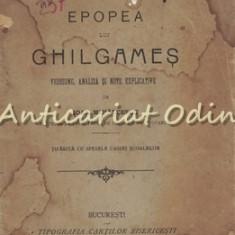 Epopea Lui Ghilgames - Ioan Mihalcescu