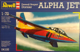 Machetă avion ALPHA JET (1:72) Neasamblat, kit complet!