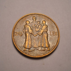 20 lei 1930 Hora Piesa Frumoasa