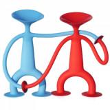 Cumpara ieftin Pachet 2 Omuleti flexibili, Jucarie cu Ventuze Sibelly, Figurina din cauciuc siliconic cu ventuze