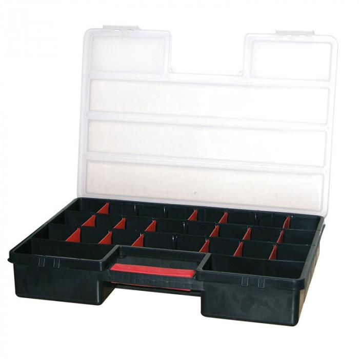 CUTIE ORGANIZATOR 460X325X80MM / 16 CASETE Profi Tools