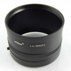 Filter-adapter passend pentru pentax mx-1 auf 58mm, ,