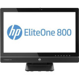 All In One HP EliteOne 800 G1, Intel Core i5 Gen 4 4570S 2.8 GHz, 8 GB DDR3, 500 GB HDD SATA, Webcam, Display 23inch Full HD