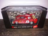 Macheta Alfa Romeo 33TT12 - 1000km Spa - 1975 - BRUMM scara 1:43
