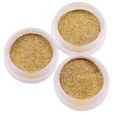 Sclipici Glitter Unghii Pulbere SensoPRO Milano, Gold - Set 3 bucati