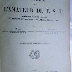 carte veche manual f.rar 1925  radioamator radio vechi 456pag