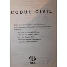 CODUL CIVIL - PROF . UNIV . DR . CORNELIU BARSAN , CONF . UNIV . DR . VALERIU STOICA