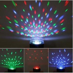 Glob Disco cu jocuri de lumini LED cablu alimentare 1 metru