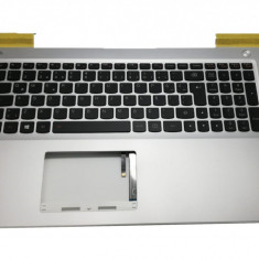 Carcasa superioara palmrest cu tastatura iluminata Laptop Lenovo IdeaPad 700-15ISK layout TR