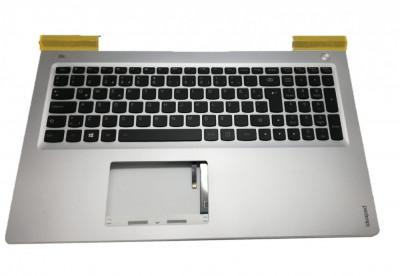 Carcasa superioara palmrest cu tastatura iluminata Laptop Lenovo IdeaPad 700-15ISK layout TR foto