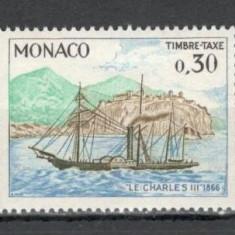 Monaco.1969 Porto-Activitati postale  MM.876