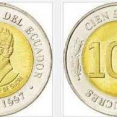 Ecuador 1997 - 100 Sucres, Antonio Jose de Sucre, aUNC