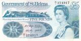 Bancnota Saint Helena 5 Pounds (1998) - P11 UNC