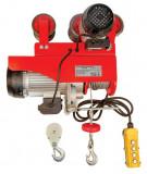 Macara electrica 1000 kg x 1600 W cu deplasare motorizata Raider Power Tools