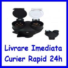 Adaptor priza rulota / remorca 13 - 2x7 pini tip NS AF-091020-1