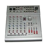 Mixer audio cu amplificator consola dj 6 canale 2x210w