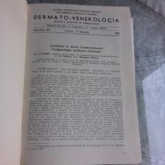DERMATO-VENEROLOGIE REVISTA, VOLUMUL XIII/1968